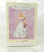 1995 Hallmark Christmas Ornament Springtime Barbie Easter Collection #1   - $14.84