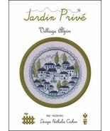 Village Alpin cross stitch chart by Jardin Prive  - $7.20