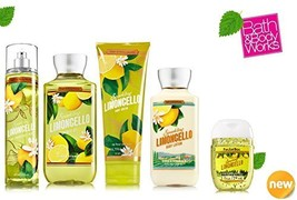 Bath & Body Works SPARKLING LIMONCELLO Deluxe Gift Set Lotion ~ Cream ~F... - $38.73