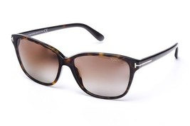 Tom Ford Dana TF0432 52H Dark Tortoise Sunglasses Brown Polarized Lens S... - $108.89