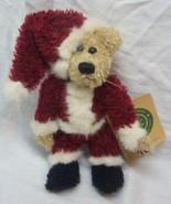 "Boyds NIKI II 2 TEDDY BEAR IN SANTA CLAUS SUIT 7"" Plush STUFFED Toy NEW - $16.34"
