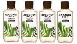 Bath & Body Works Coconut Palm Shea & Vitamin E Shower Gel - x4 - $47.50