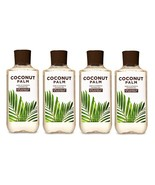 Bath & Body Works Coconut Palm Shea & Vitamin E Shower Gel - x4 - $47.50