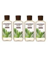 Bath & Body Works Coconut Palm Shea & Vitamin E Shower Gel - x4 - £34.54 GBP