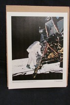 EDWIN ALDRIN COMES DOWN THE LADDER OF THE LUNAR  . . . .  69-HC-680 - NA... - $19.64