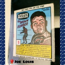 JOE LOUIS Anglo American Gum Sports Parade #5 Rare Vintage Boxing Wrapper - $1,103.43