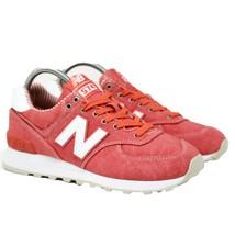 New Balance 574 Neonati WL574CHE Donna Taglie 5 Vivace Corallo Mare Cambrì Rossa - $84.43