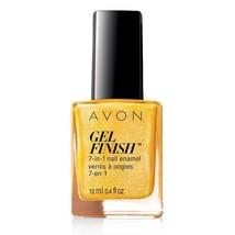 """Avon Gel Finish 7-in-1 Nail Enamel """"Limoncello"""" - $6.25"""