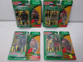GI JOE Spy Troops Snake Eyes/Dusty & Zartan/Cobra Commander Disc Set - H... - $14.50
