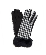 Houndstooth Touch Gloves - $14.00