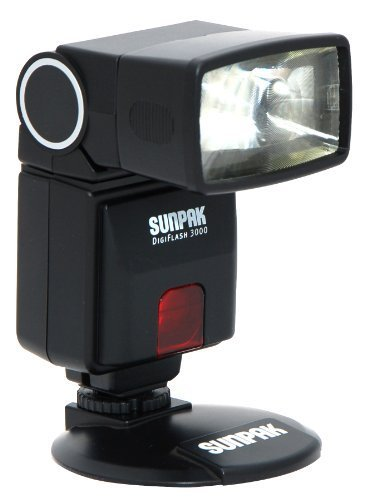 Sunpak Digiflash 3000 Electronic Flash for Canon DSLR Cameras