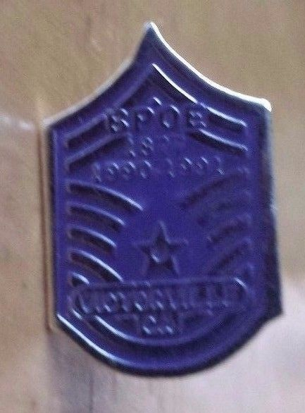 "BPOE Elks Lodge 1877 1990-1991 Victorville California Lapel Pin 7/8""  x 1/2"""