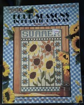 Four Seasons In Plastic Canvas Leisure Art Book 6 #1625 Over 80 New Projects - $4.00
