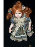 """2000 Hillview Lane 11"""" Limited Edition 34/196 Red Head Blue Eyed Porcela... - $29.68"""