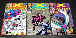 3 1989-90 Marvel Comics X FACTOR 49, 55, 56 FINE  Comic Books - $11.99