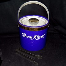 Vintage Georges Briard Limited Edition Crown Royal Purple Bucket and Ice... - $67.99