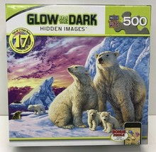 Puzzle with Glow in the Dark Hidden Images - Polar Bears - $32.65