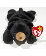 RETIRED BLACKIE THE BEAR BEANIE BABIES BABY DOB TAG 1994 TUSH TAG 1993 - $4.94