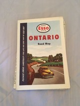 Vintage Esso Road Map - Ontario 1949 - $5.45