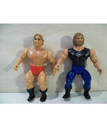 LOT OF 2 VINTAGE REMCO AWA LONG RIDERS ACTION FIGURES SCOTT IRWIN LARRY ... - $13.92