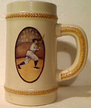 "Vintage Russ Berrie Hand Painted Babe Ruth Large 6 1/2"" Ceramic Beer Ste... - $8.00"