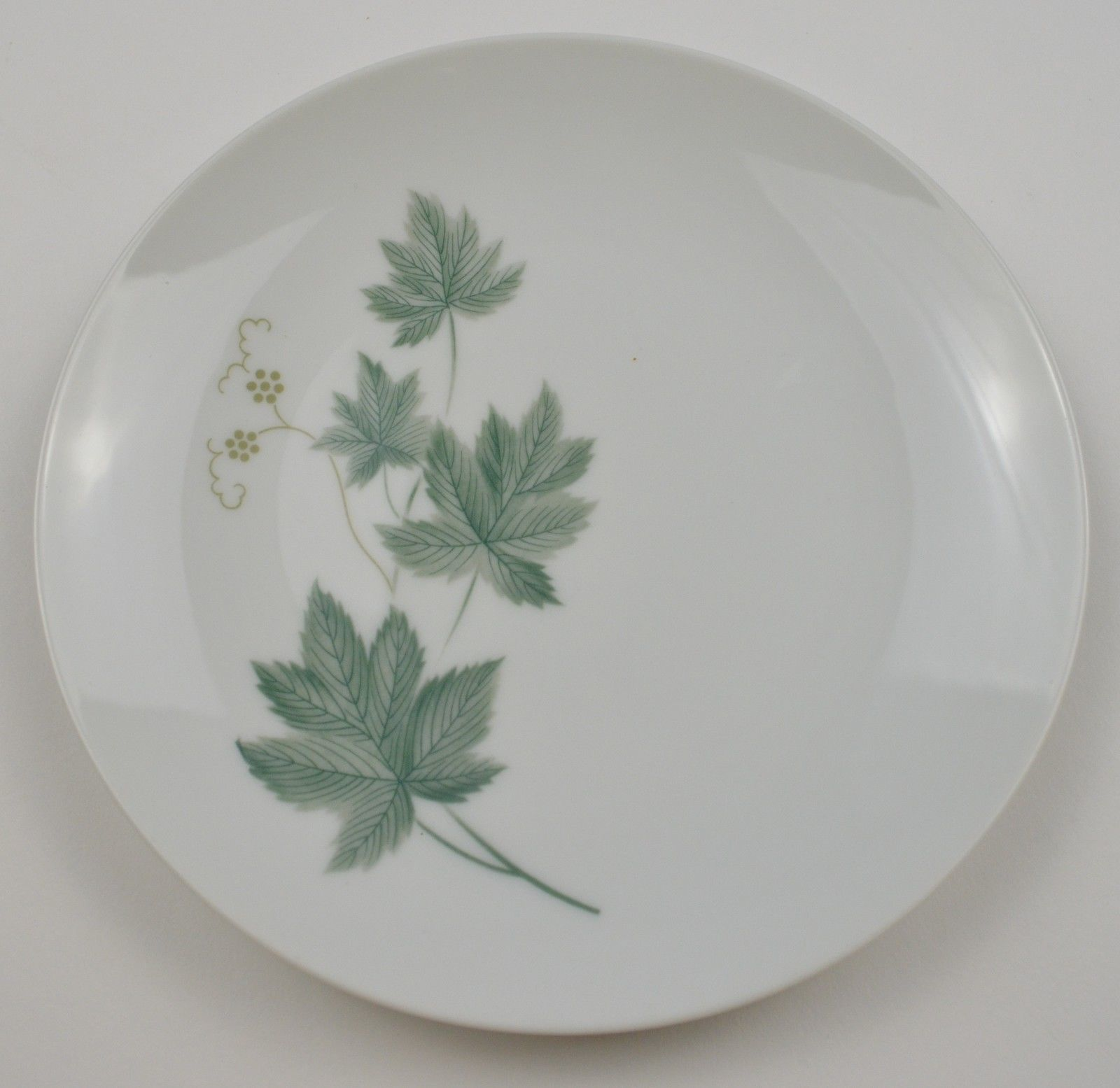 "Vintage Noritake China Wild Ivy Pattern Bread & Butter Plate 6.375"" Round Decor - $6.99"