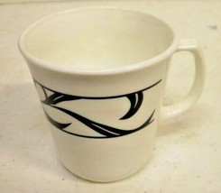 Corelle Lyrics Cup Mugs Set of 4  Black White - $12.70