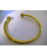 20 K CARAT YELLOW SOLID GOLD HANDMADE BANGLE UNISEX TORQUE BANGLE FOR UN... - $2,771.99+