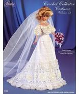 1903 Victorian Lace Bridal Gown for Barbie Paradise Vol. 58 Crochet PATT... - $7.17