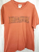 Harley Davidson Men reddish T-Shirt  LARGE ST.PAUL MN 2009 (#7) - $10.00