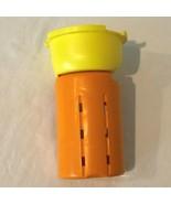 Evenflo Exersaucer Triple Fun Replacement Part Upper Leg Piece Orange Ye... - $4.99