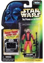 Star Wars: Power of the Force Freeze Frame Nien Nunb Action Figure by Kenner - $8.86