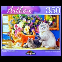 350 Piece Jigsaw Puzzle by Artbox 18 in. x 11 in, Tea by the Sea - $5.18