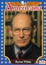 Byron White trading card (Supreme Court Justice) 1992 Starline Americana... - $3.00