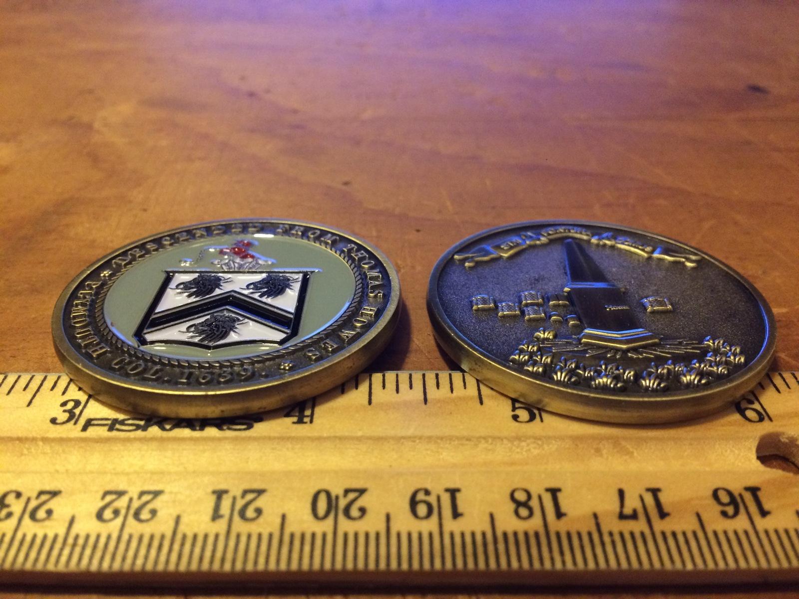 Howes Medal - coat of arms / keepsake