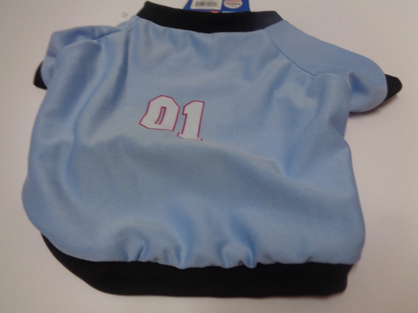 Blue Doggy Sport Jersey Shirt NWT Small Dog Number One Free Shipping