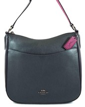 AUTHENTIC NWT COACH $250 LEATHER CHAISE CYPRESS GREEN BLACK CROSSBODY BA... - $192.26 CAD