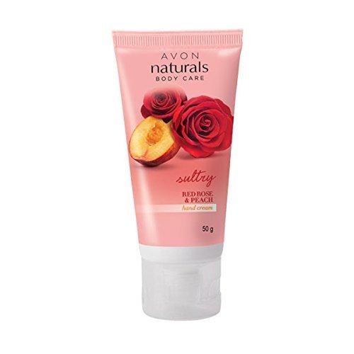 Avon Red Rose & Peach Hand Cream 50g