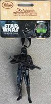Disney Store SketchbookStar Wars Rogue One Death Trooper Holiday Ornamen... - $6.95