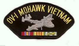 "0V-1 MOHAWK VIETNAM VETERAN EMBROIDERED 6"" SERVICE RIBBON MILITARY   PATCH - $15.33"