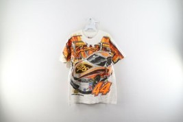 Vintage NASCAR Mens Size Large Dale Jarrett All Over Print Racing T-Shir... - $98.95