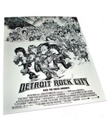 1999 DETROIT ROCK CITY Movie 8.5x11 Kiss AD SLICK Advertising Promo Sheet - $9.99