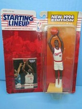 Kenner Starting Lineup 1994 NBA Dominique Williams Clippers action figur... - $7.87