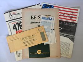 Savings Loan Bank Ephemera Gibraltar Home Lincoln American Montebello VTG - $10.39