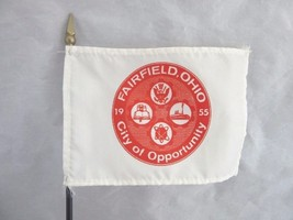 Vintage 1955 city Flag from Fairfield, OH - $9.99