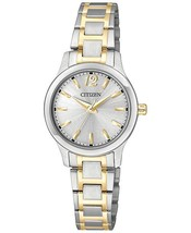 Citizen Women's EL3034-58A Analog Display Japanese Quartz Two Tone Watch - £103.24 GBP