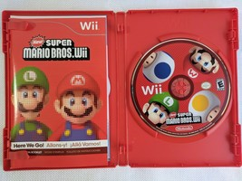 LikeNew Super Mario Bros. Wii (Nintendo Wii, 2009) Complete and Tested - $14.99