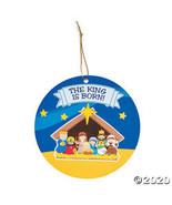 Nativity Sticker Scene Ornaments - $18.35