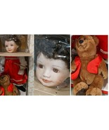 """Ashton Drake Galleries NATASHA Doll Knowles Porcelain 15"""" Authentic #667... - $29.65"""