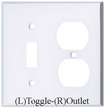 Superman & Wonder Woman Light Switch Duplex Outlet wall Cover Plate Home decor image 15